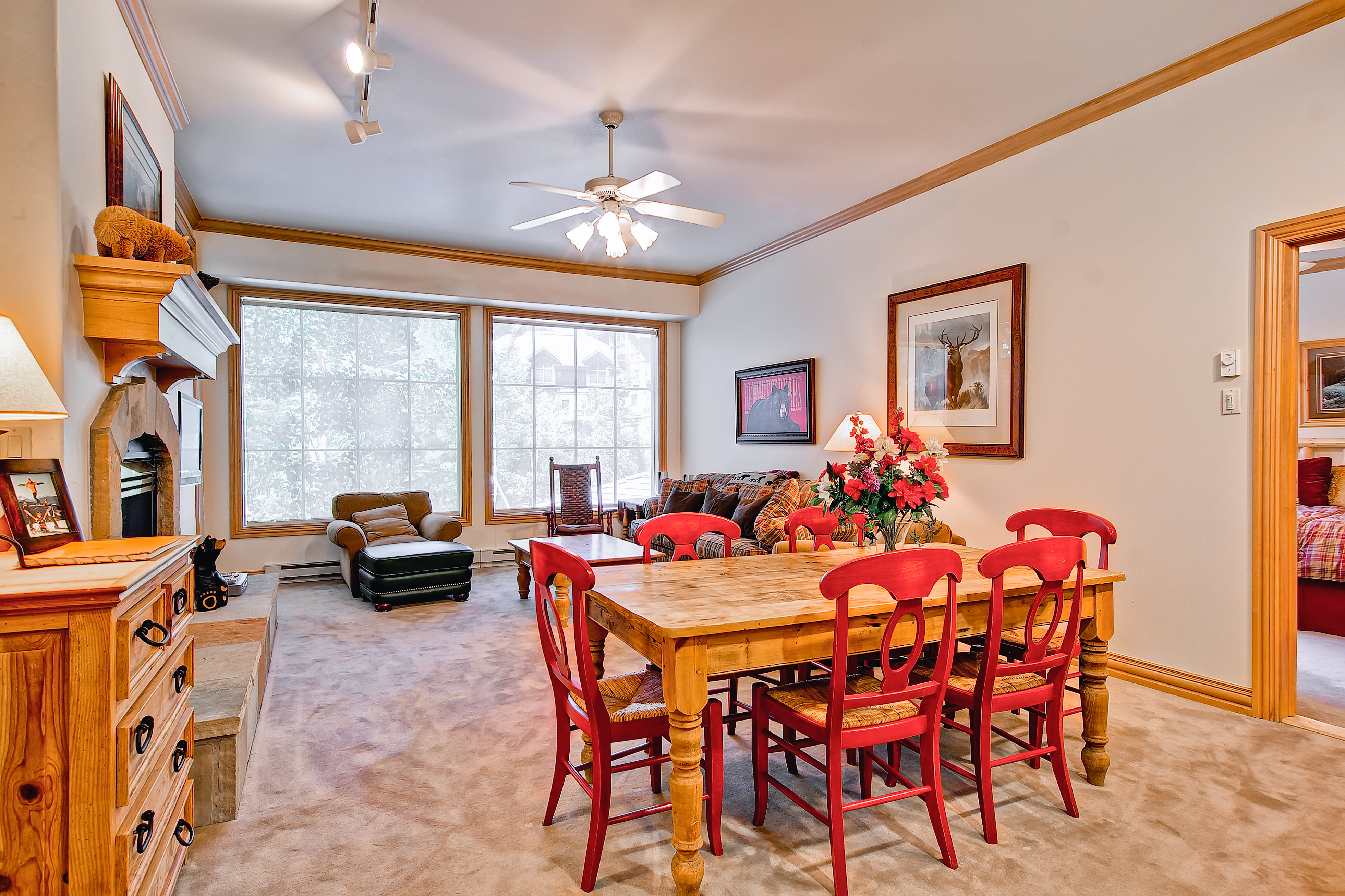 Property Image 1 - Bright, Cozy Condo with Slope View & On-Site Pool & Hot Tub