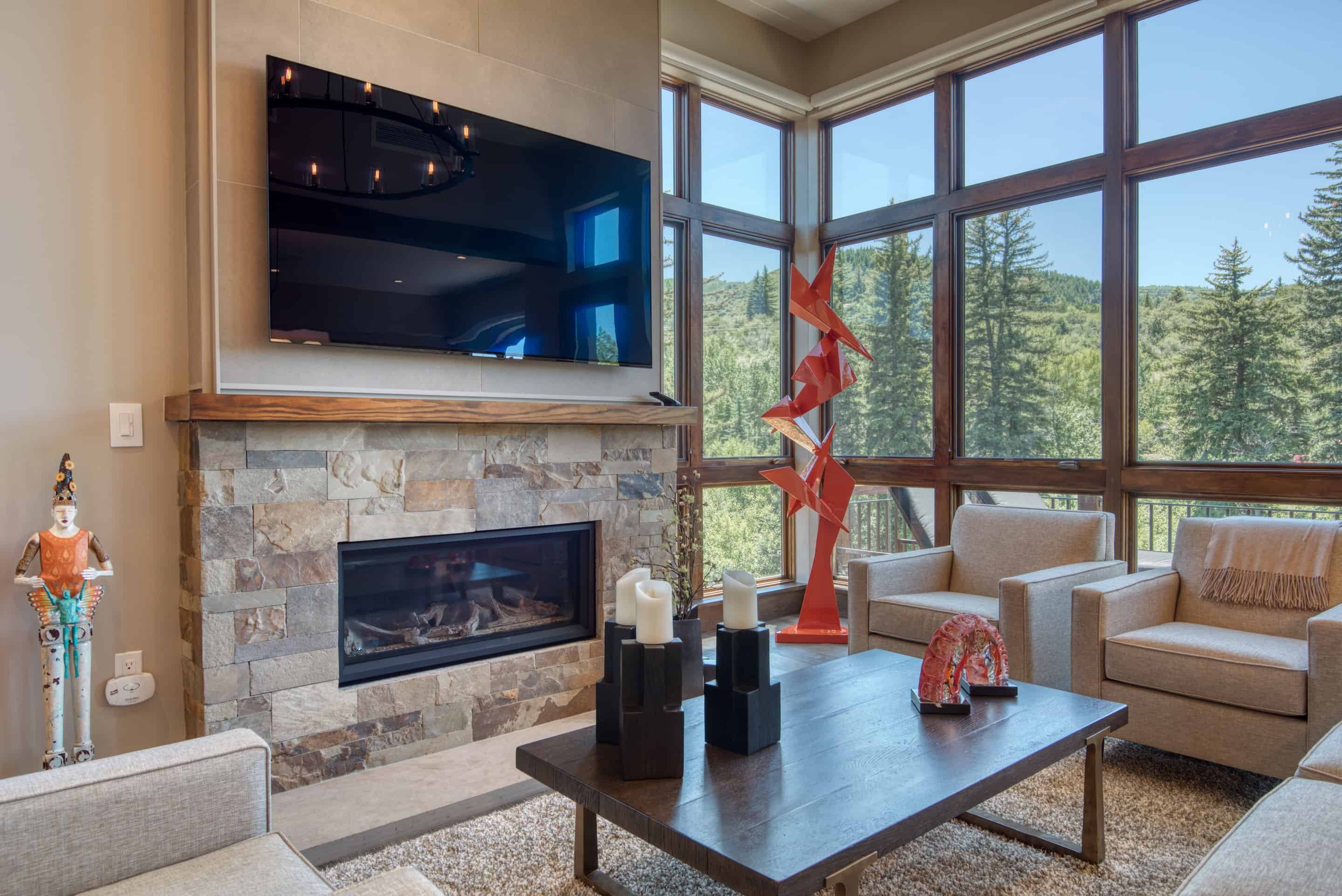 Property Image 1 - Colorful Mountain Contemporary Riverfront Residence