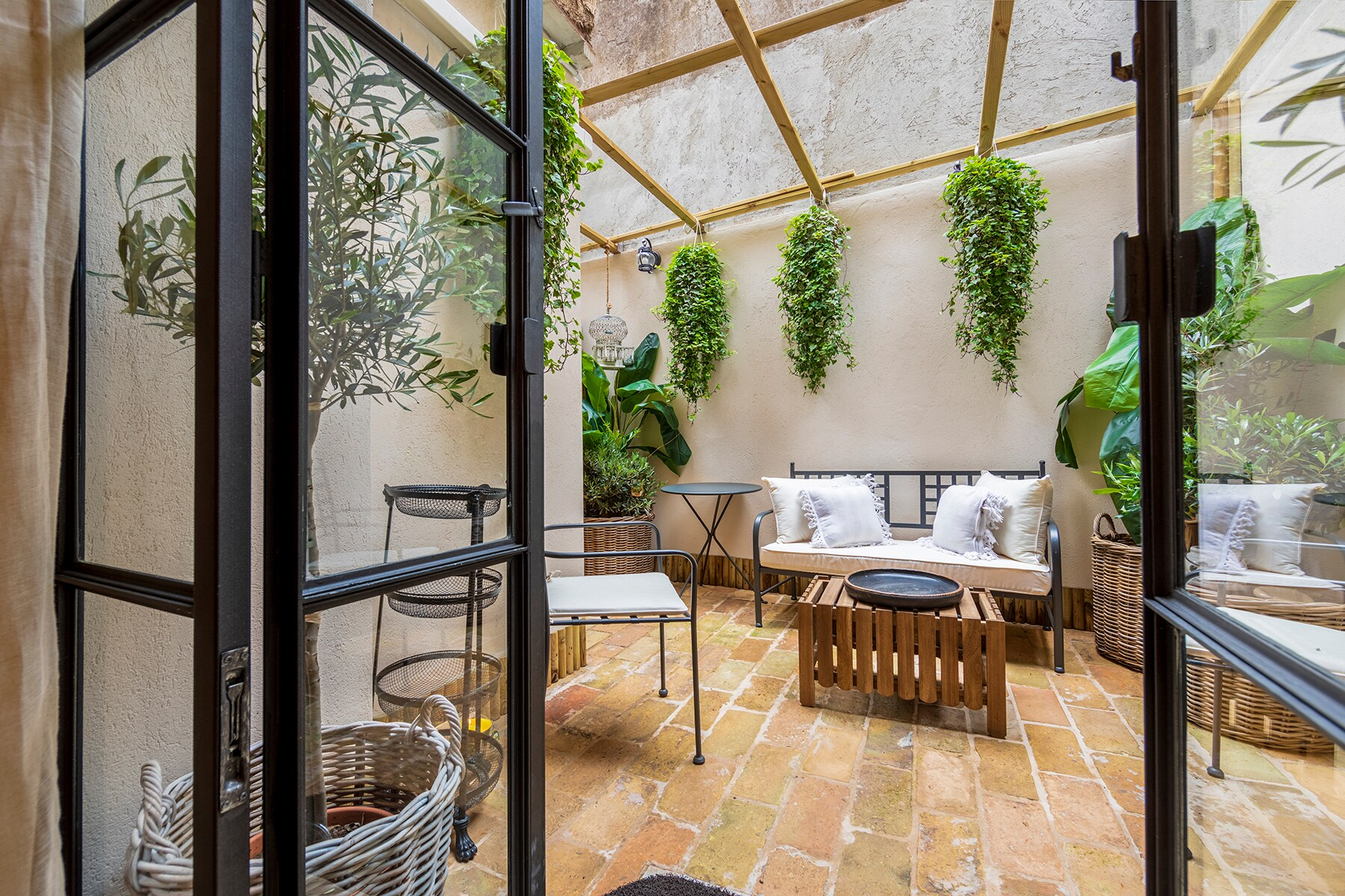 Impeccably Designed Loft in Trastevere with a Bohemian Feel