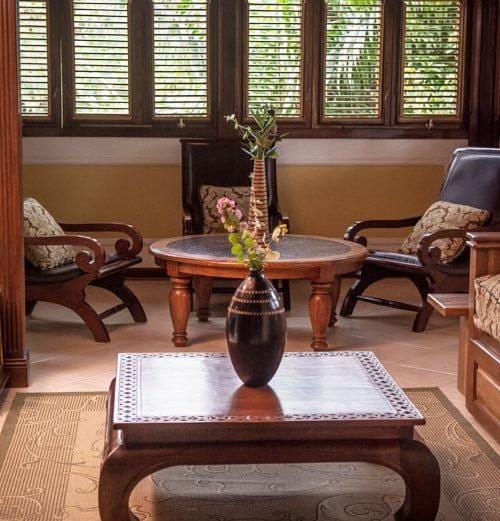 Secluded Home with Touches Of Balinese Decor
