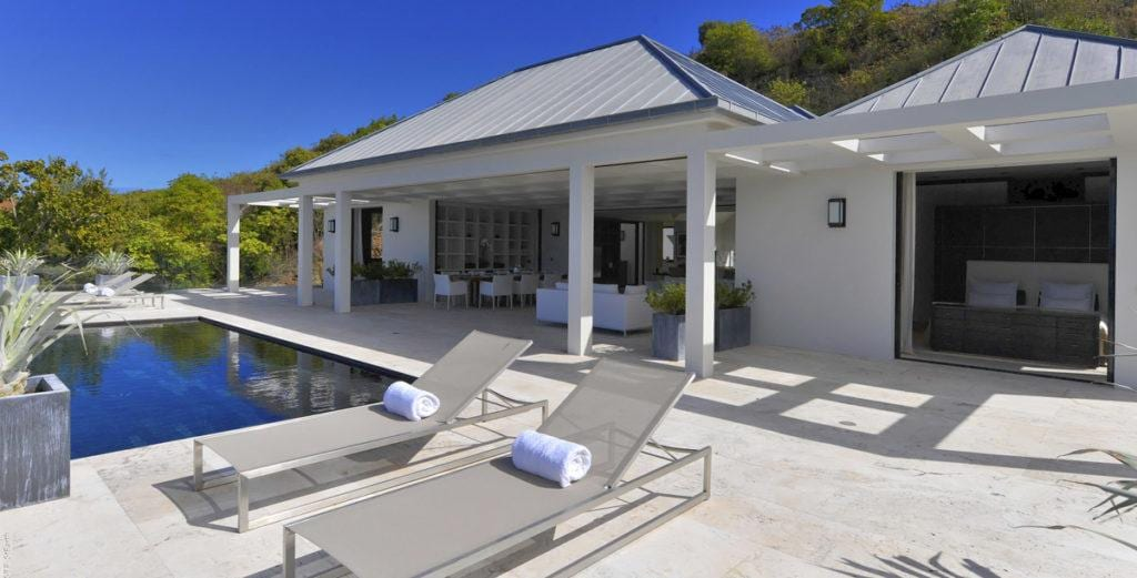 Remarkable Villa with Two Pools in Exclusive Pointe Milou