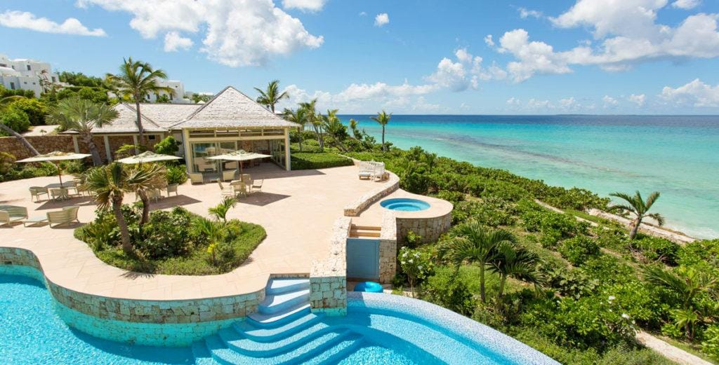 Timeless Caribbean Estate with Beachfront Dining