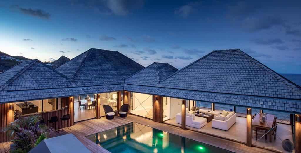 Magnificent New Villa Spread Over Three Levels in Anse des Cayes