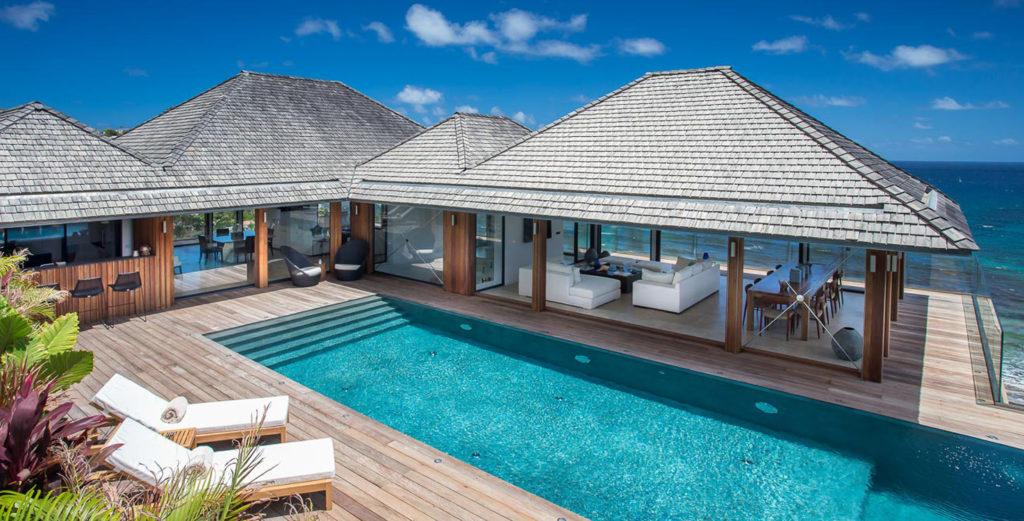 Property Image 1 - Magnificent New Villa Spread Over Three Levels in Anse des Cayes