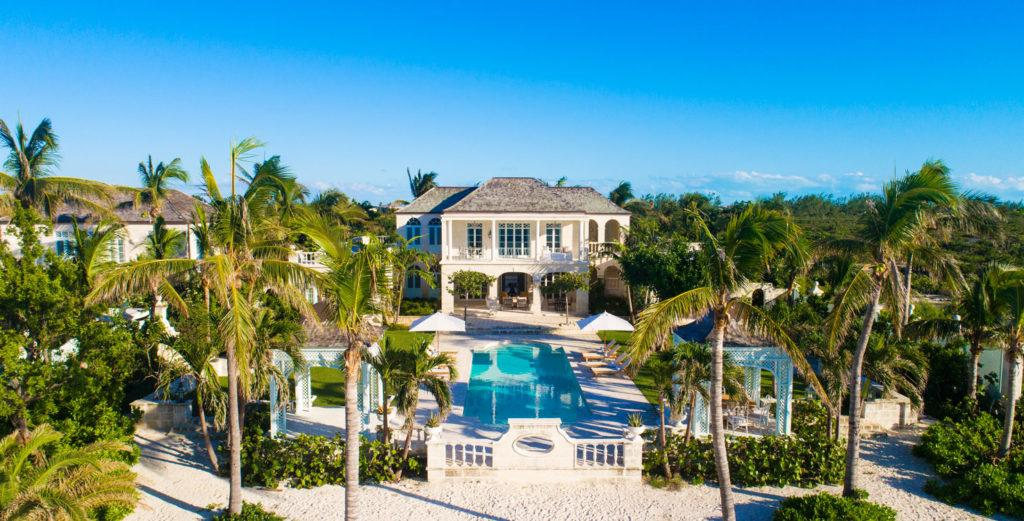 Coral-Stone Estate with Beautiful Landscaped Grounds
