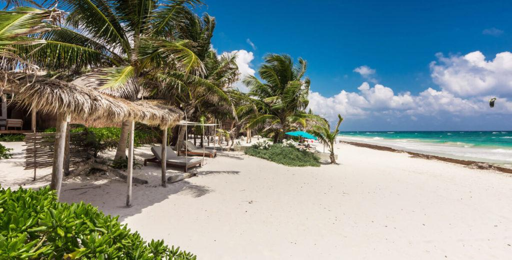 Property Image 2 - Stunning Beachfront Tulum Three Villa Estate Surrounded by Tropical Gardens