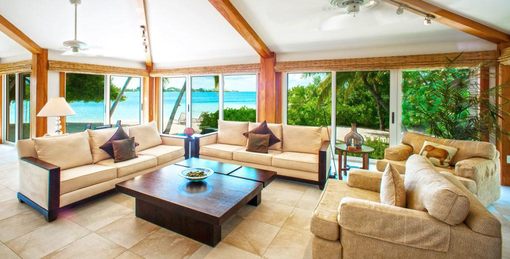 Property Image 1 - Beachfront Home nestled in Peaceful Interior Decor