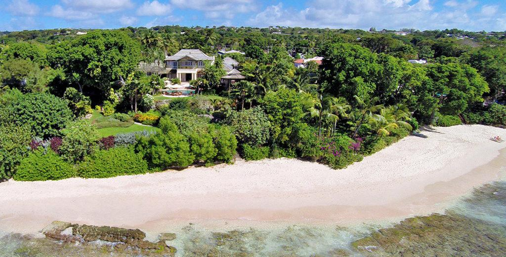 Idyllic Beachfront Villa on 3 Acres of Tropical Garden