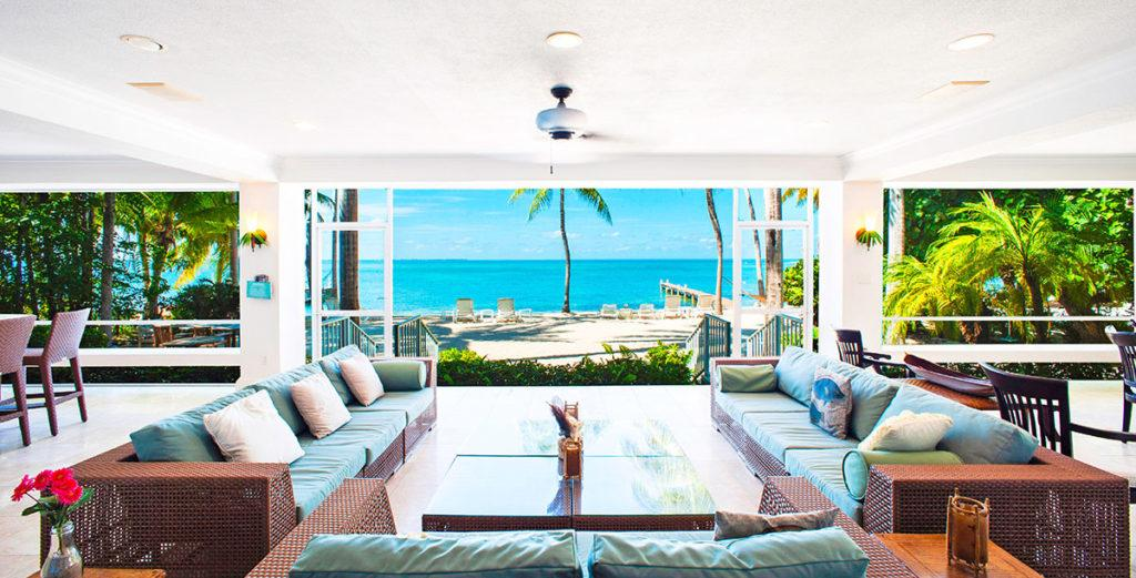 Secluded Oceanfront House includes Kid Amenities
