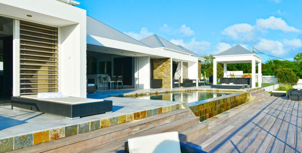 Property Image 1 - Contemporary, Open-Plan Villa with Second Alfresco Dining Area in St. Jean