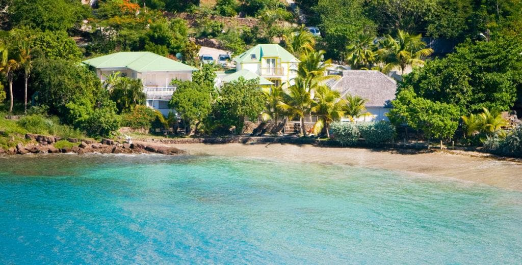 Property Image 2 - Lovingly Maintained Cottage with Three Terraces on Marigot Beach