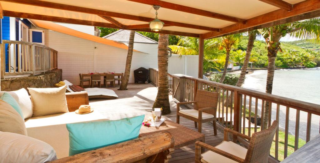 Property Image 1 - Lovingly Maintained Cottage with Three Terraces on Marigot Beach