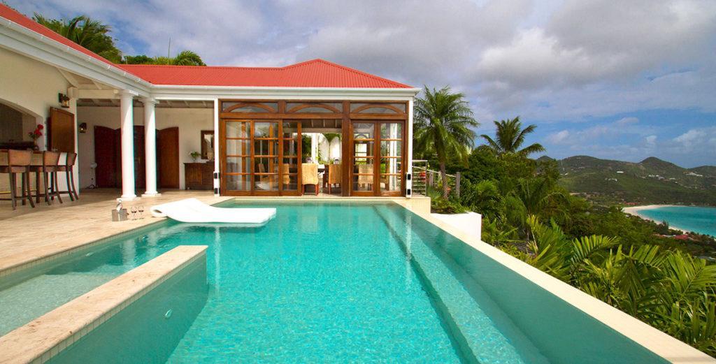 Property Image 2 - Multilevel Hillside Villa with Stunning Views of Baie St. John and Islands