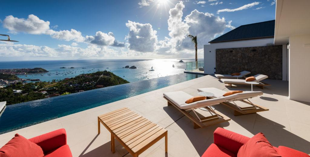 Property Image 1 - Modern Colombier Villa with Ocean-View Bedrooms and Fitness Room