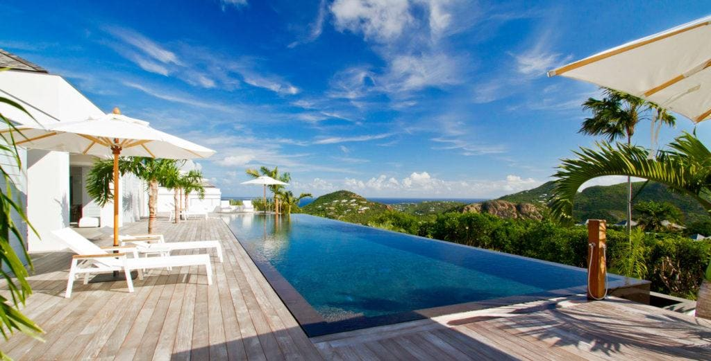 Property Image 1 - Grand Villa with Open-Air Fitness Pavilion in Hills of Gouverneur