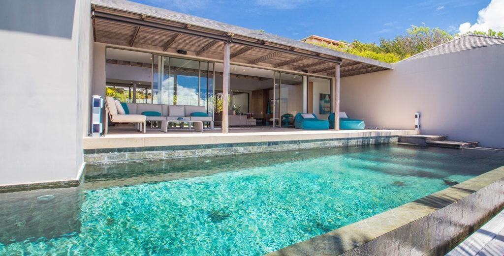Property Image 1 - Spacious Hillside Villa with Stunning Ocean Views in Colombier