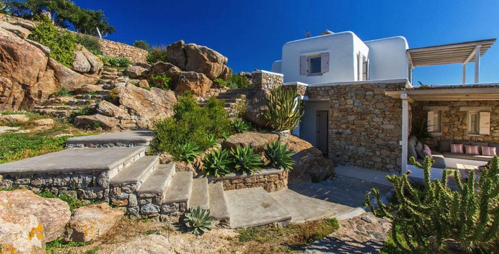Property Image 2 - Cycladic Estate located near Psarou Beach