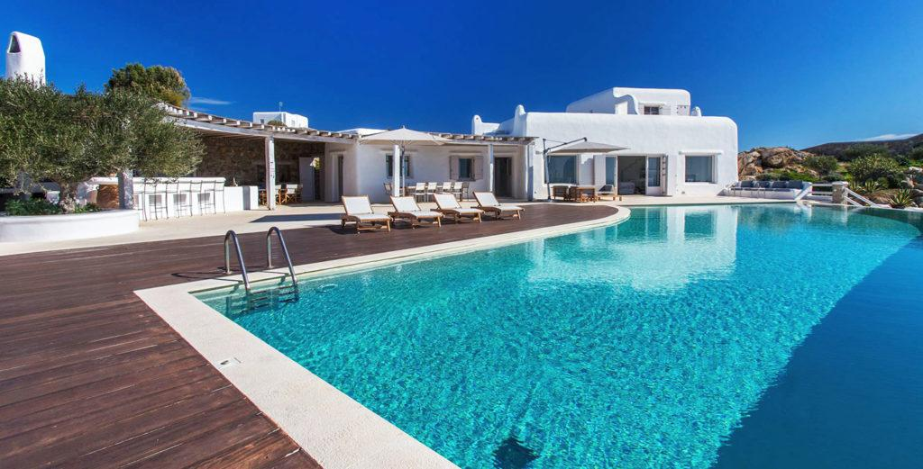 Property Image 1 - Cycladic Estate located near Psarou Beach