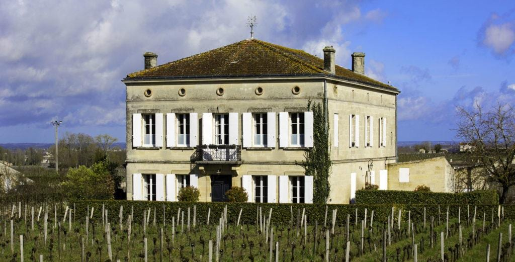 Saint Emilion Mansion by Picturesque Town And Vineyard