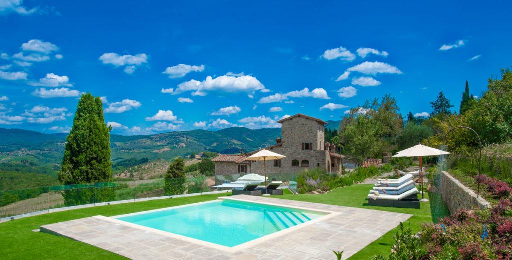 Tuscany Villa with Indoor And Outdoor Pool