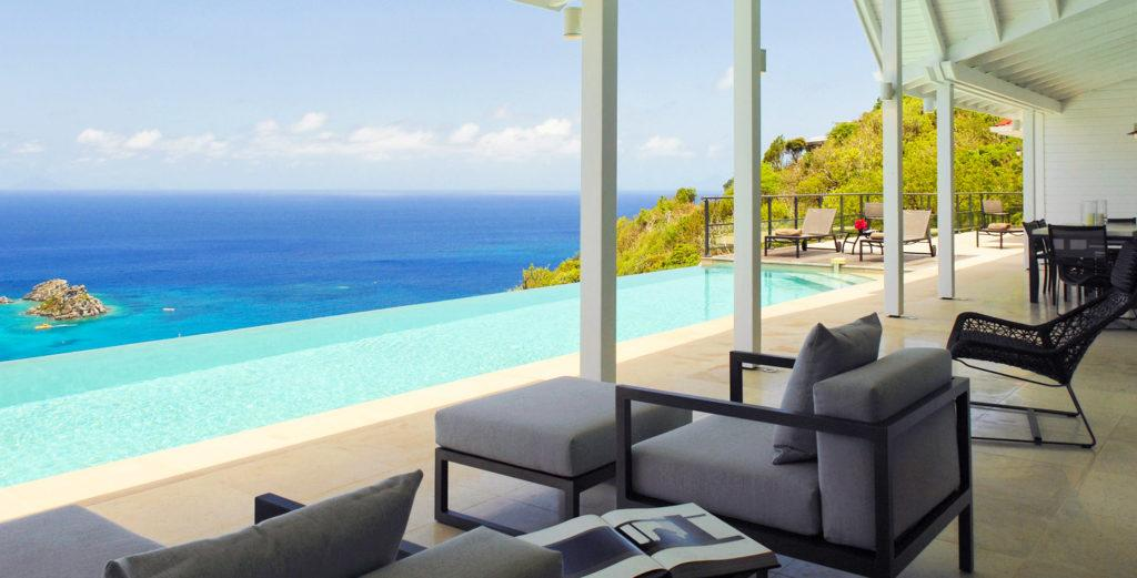 Property Image 1 - Malibu-Beach-Meets-Caribbean Villa with Spacious Tiled Patio in Colombier