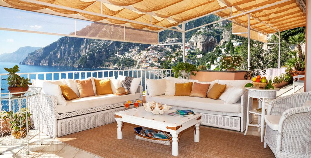 Lovely Sea-View Villa with Boat Dock Minutes from Positano