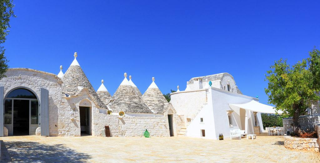 Property Image 1 - Traditional Trulli Farm Turned Chic Villa in Apulia