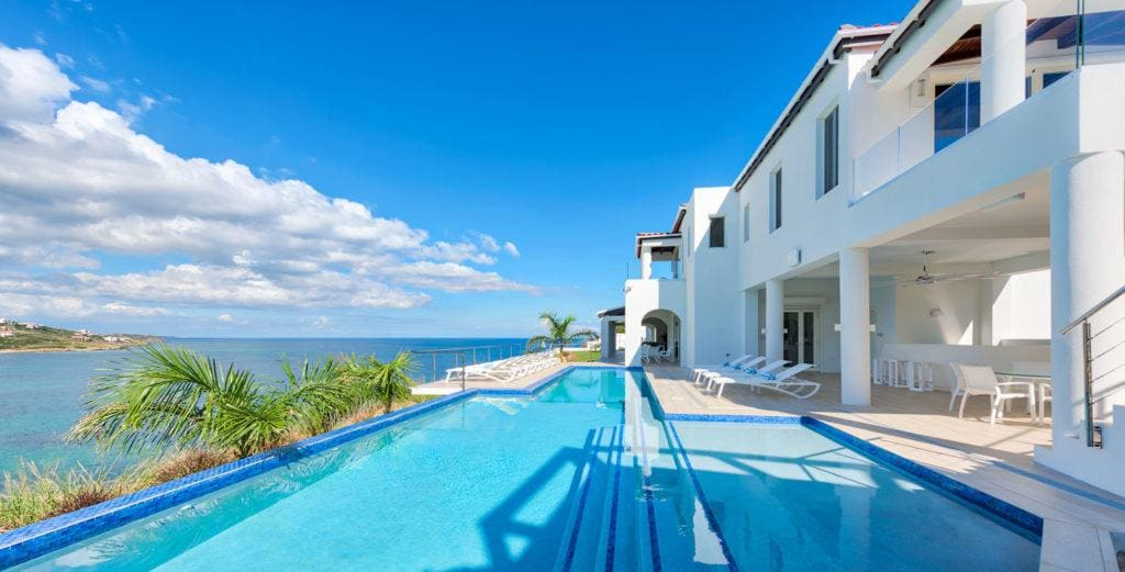 Property Image 1 - Secluded Coastal Villa with Sophisticated Design Perched on Guana Bay