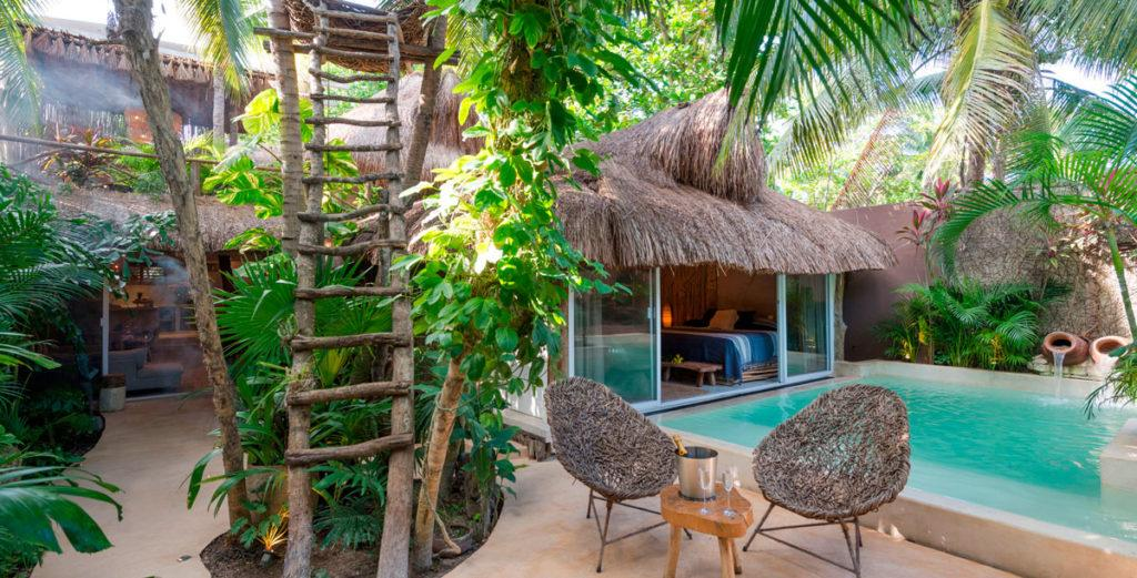 Property Image 2 - Mayan-Inspired Rustic Home with Natural Swimming Pool