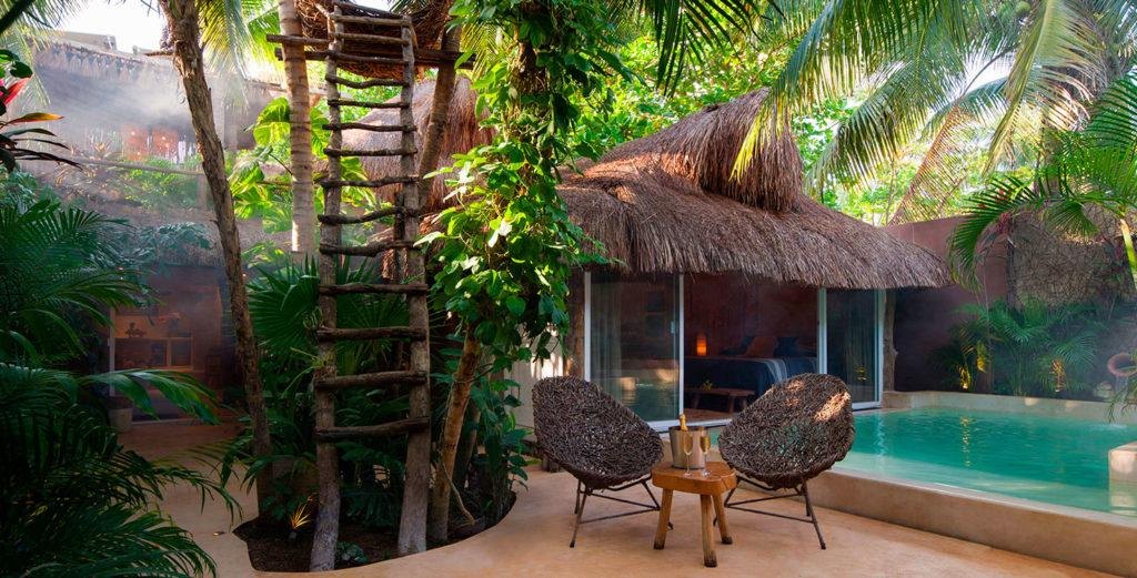 Property Image 1 - Mayan-Inspired Rustic Home with Natural Swimming Pool