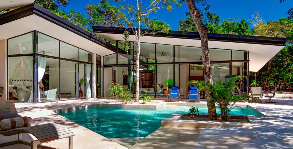 Energy Efficient Jungle Eco Home in Mayan Riviera