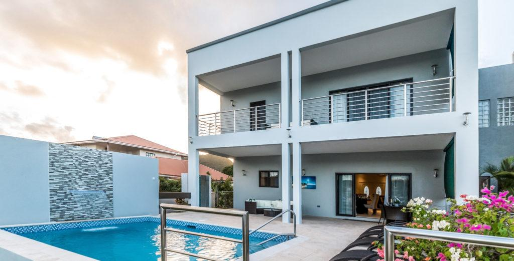 Modern Duplex in Rodney Bay with Balconies and Private Pool