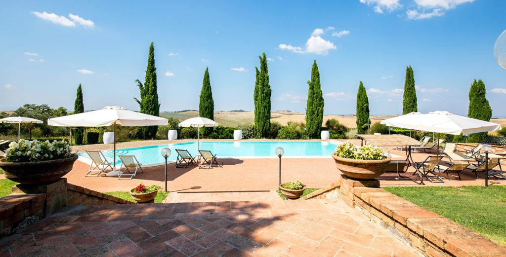 Property Image 1 - Timeless Val d'Orcia Villa Set in Wine-Producing Estate