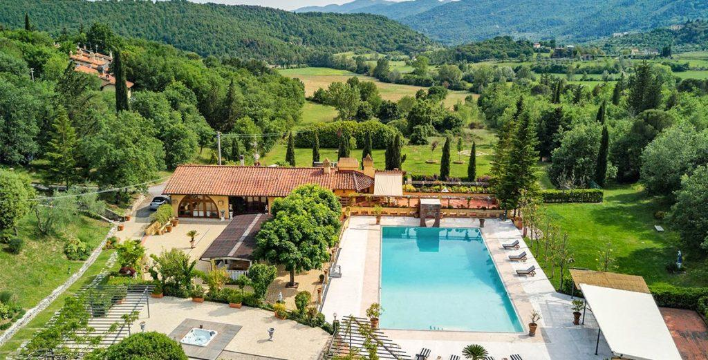 Bucolic Villa Set in the Tranquil Hills Near Florence