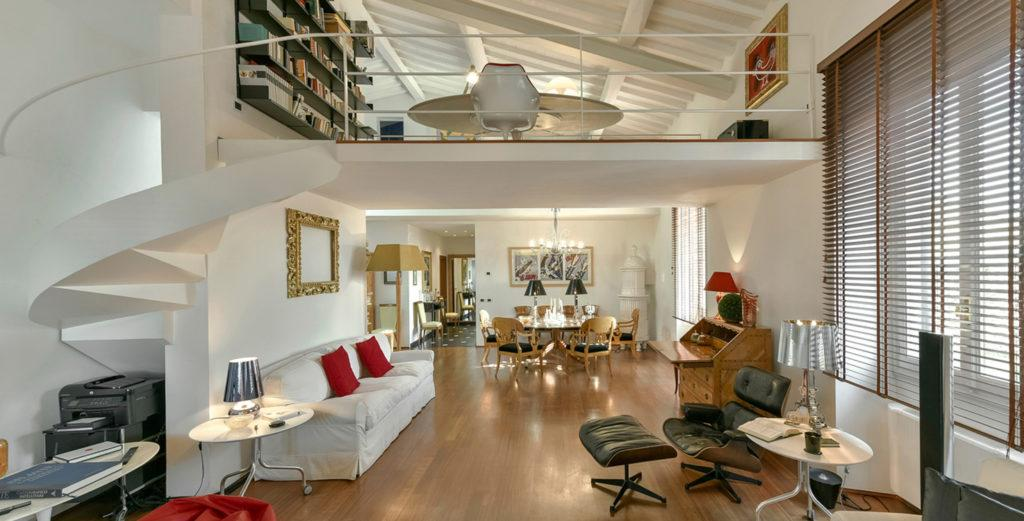 Property Image 1 - Bright, Modern Duplex Penthouse in Historical Florentine Palazzo