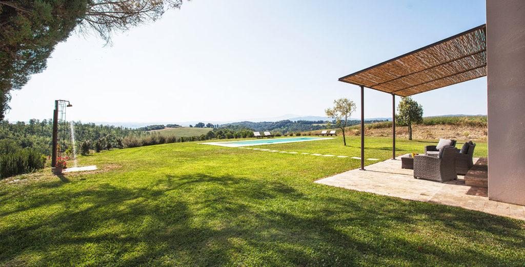 Charming Val d'Orcia Villa Found on Organic Estate