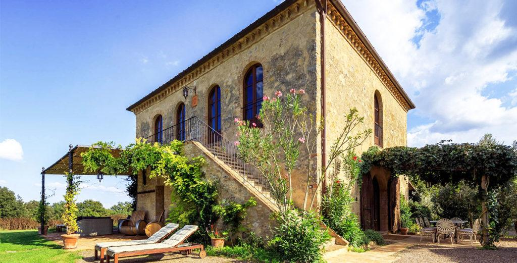 Sunny Country House in Picture-Perfect Val d'Orcia