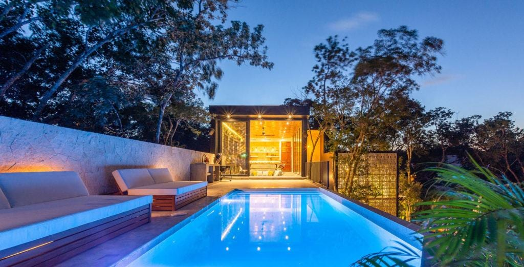 Property Image 1 - Stunning Modern Home with Pool and Tropical Gardens
