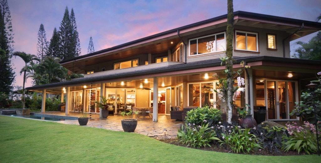 Expansive Princeville Three-Bedroom home Near Golf Course
