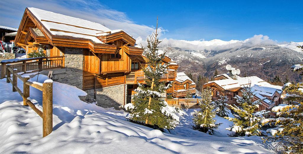 Property Image 2 - Panoramic Ski Chalet with Open Fireplace in Courchevel