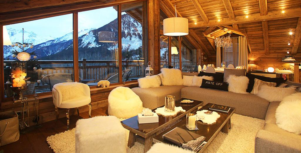 Property Image 1 - Pampering Courchevel Ski Chalet with Home Cinema