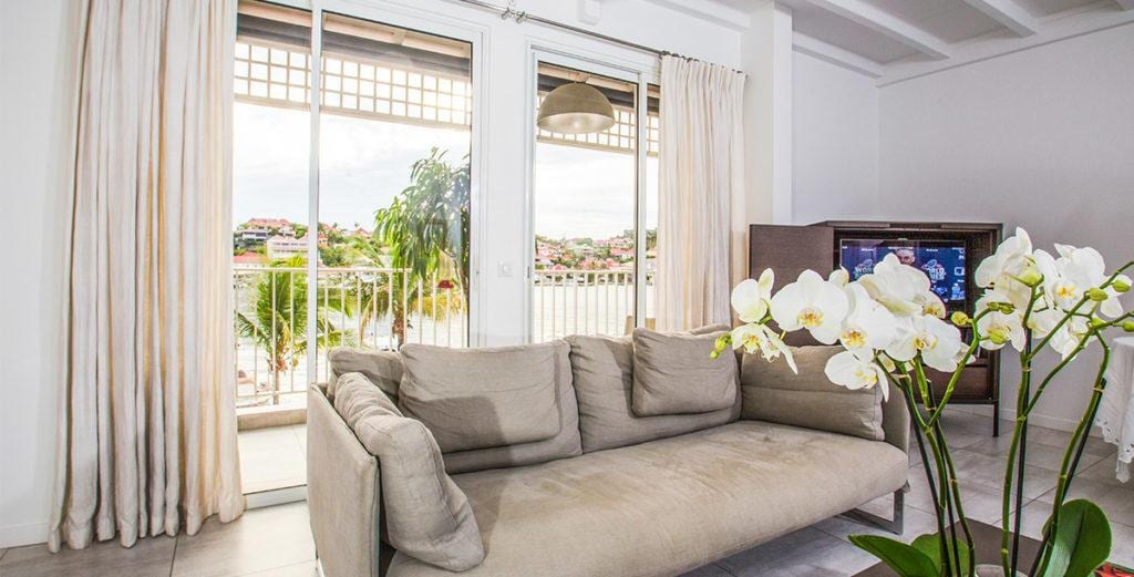 Modern Apartment with Classic Flourishes in Gustavia