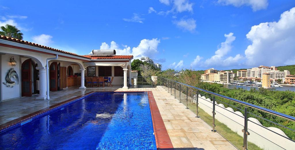 Property Image 1 - Serene Villa with Lagoon Views in Cupecoy