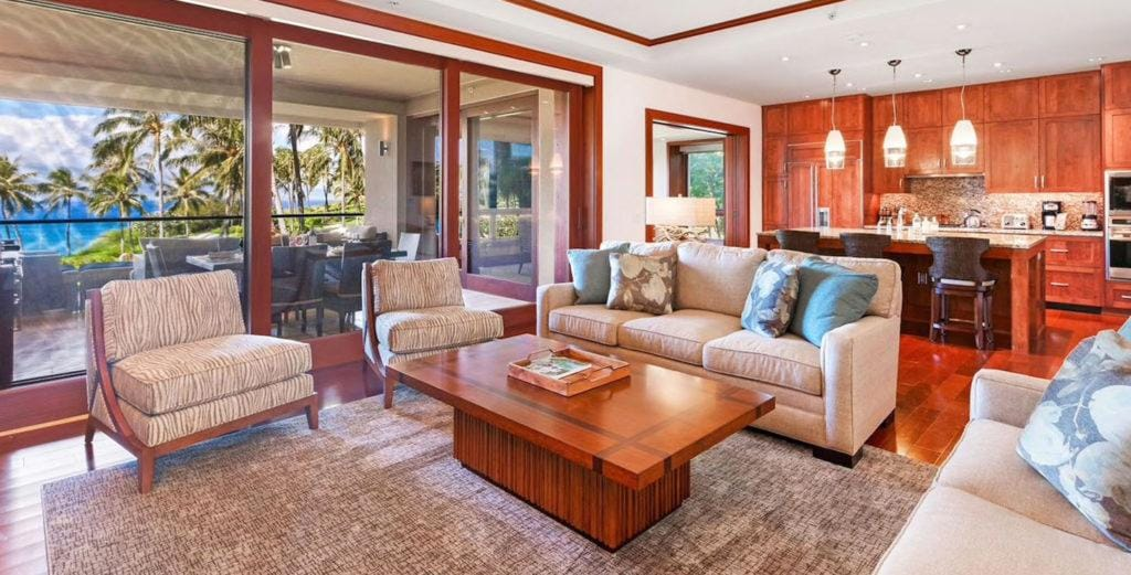 Newly-Completed Resort Residence with Expansive Living Space in Kapalua
