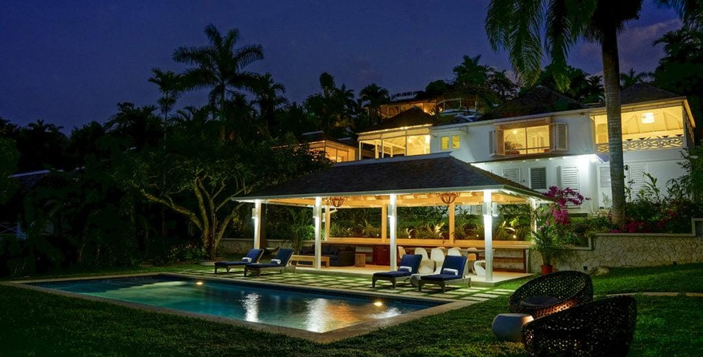 Chic, Idyllic Villa on a Beautifully-Terraced Hill in Montego Bay