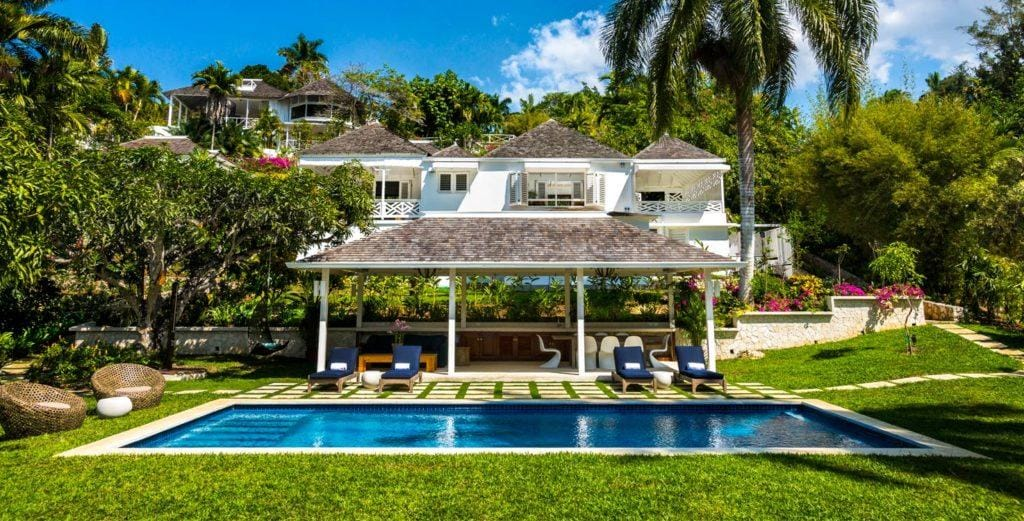 Property Image 1 - Chic, Idyllic Villa on a Beautifully-Terraced Hill in Montego Bay