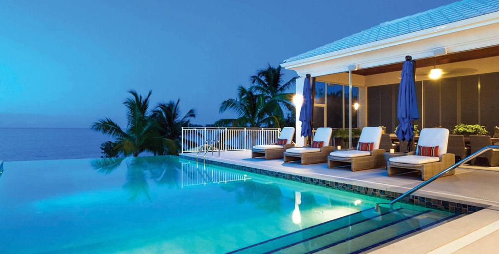 Remarkable West Indies-Style Villa with Private Beach in Cayman Kai