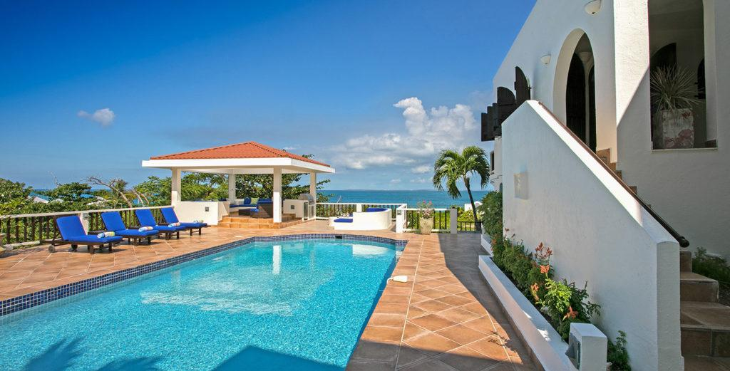 Mediterranean-Style Villa with Prime Beachfront Location on Baie Rouge