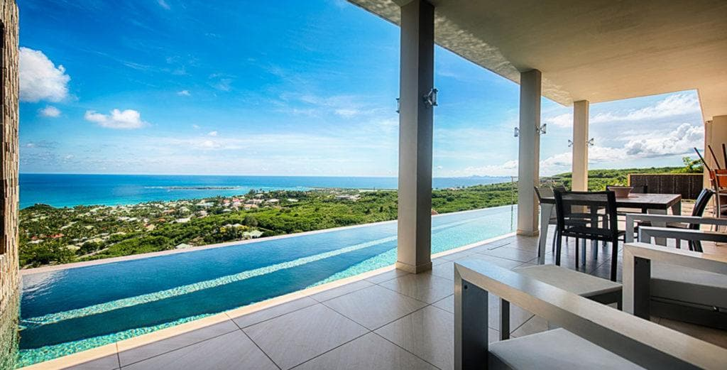 Property Image 1 - Ultra-Modern Villa with Terraces Front and Back Overlooking Orient Bay
