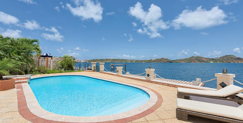 Stylish, Spacious Villa with Private Dock in Point Pirouette